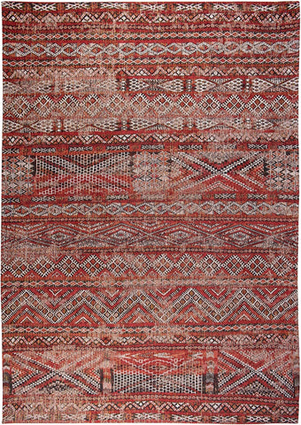 Antiquarian Kilim Fez Red 9115 Top of Rug