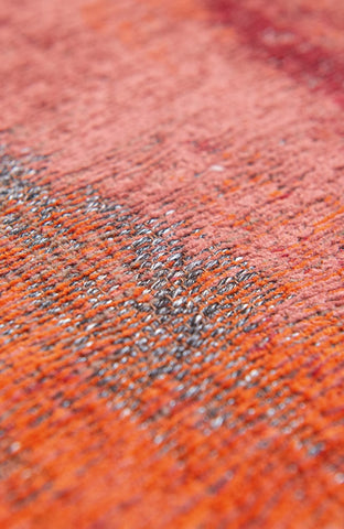 Louis De Poortere Atlantic Monetti Hibiscus Red 9116 Detail of Rug