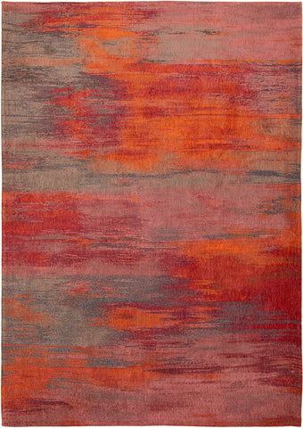 Louis De Poortere Atlantic Monetti Hibiscus Red 9116 Top of Rug