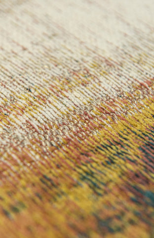 Louis De Poortere Atlantic Monetti Hydrangea Mix Detail of Rug Pile