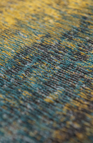Louis De Poortere Atlantic Monetti Nymphea Blue 9119 Detail of Rug