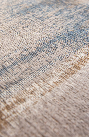 Louis De Poortere Atlantic Monetti Grey Impression Detail of Rug Pile