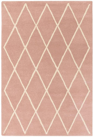 Asiatic Rugs Albany Diamond Pink