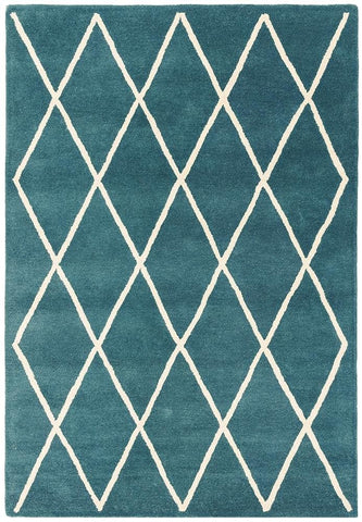 Asiatic Rugs Albany Diamond Teal