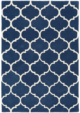 Asiatic Rugs Albany Ogee Blue