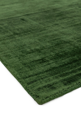 RUGHAUS Asiatic Blade Green Detail of Rug