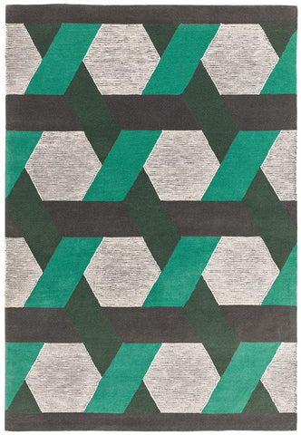 Asiatic Camden Green Rug