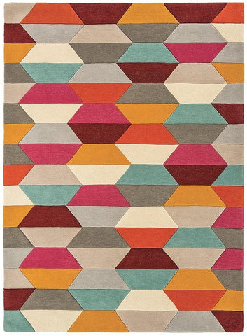 Asiatic Rugs Funk Honeycomb Bright