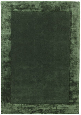 RUGHAUS Asiatic Ascot Green Top of Rug