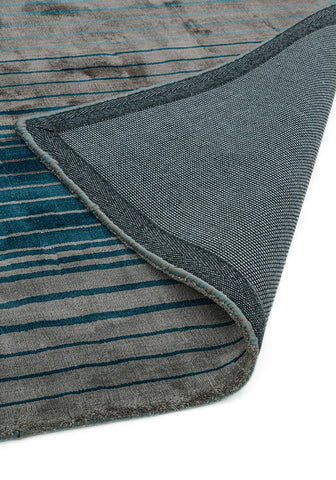 Asiatic RUGHAUS Holborn Turquoise Back of Rug