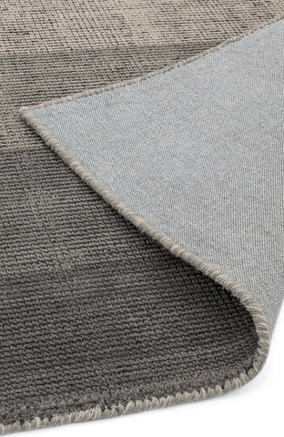 RUGHAUS Asiatic Hays Charcoal Rug Back of Pile