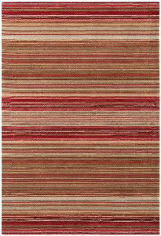 Asiatic Rugs Pimlico Red Top Down