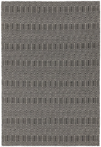 Asiatic Rugs Sloan Black top of rug