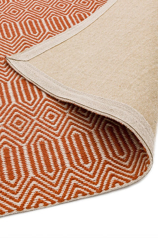 Asiatic Rugs Sloan Orange - Detail of Backing