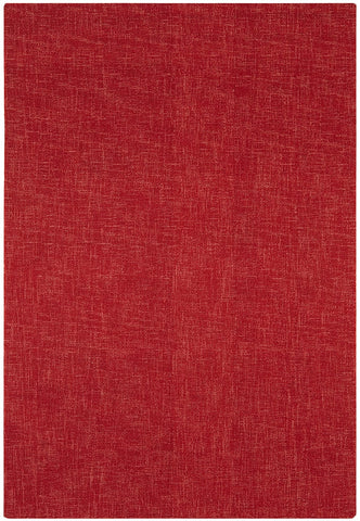 Asiatic Rug Tweed Berry Red top down photo
