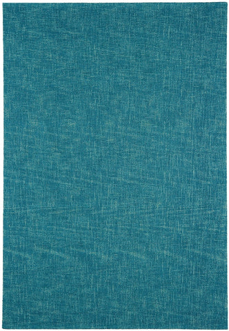 Asiatic Rugs Tweed Teal Top Down Photo