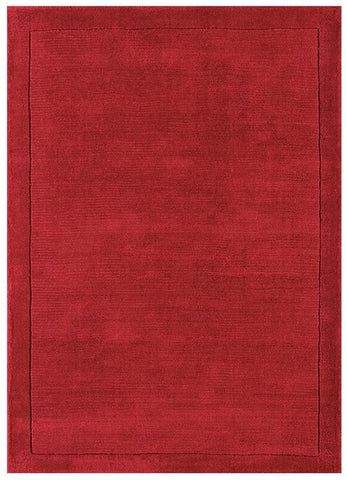 Asiatic Rugs York Poppy Red Rug Wool