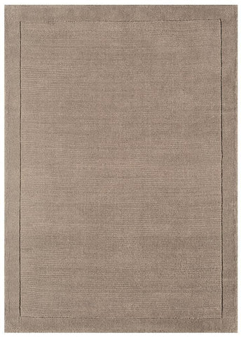 Asiatic York Taupe Wool Rug RUGHAUS
