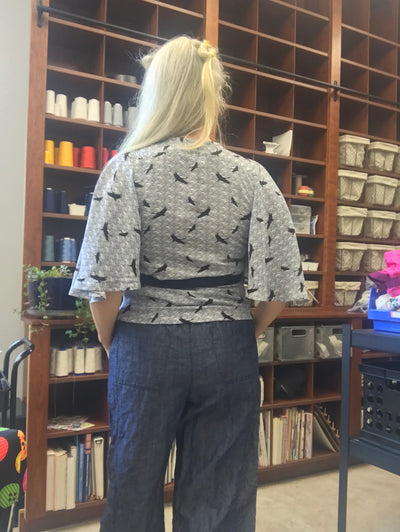 Butterfly Blouse by Decades of Style
