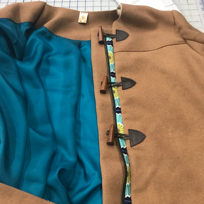 Cascade Duffle Coat by Grainline Studio