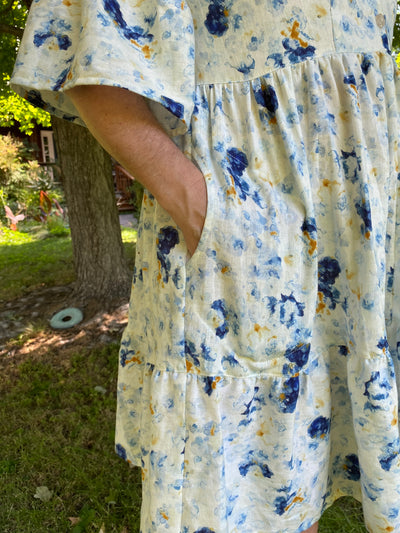 Myosotis Dress by Deer and Doe Patterns