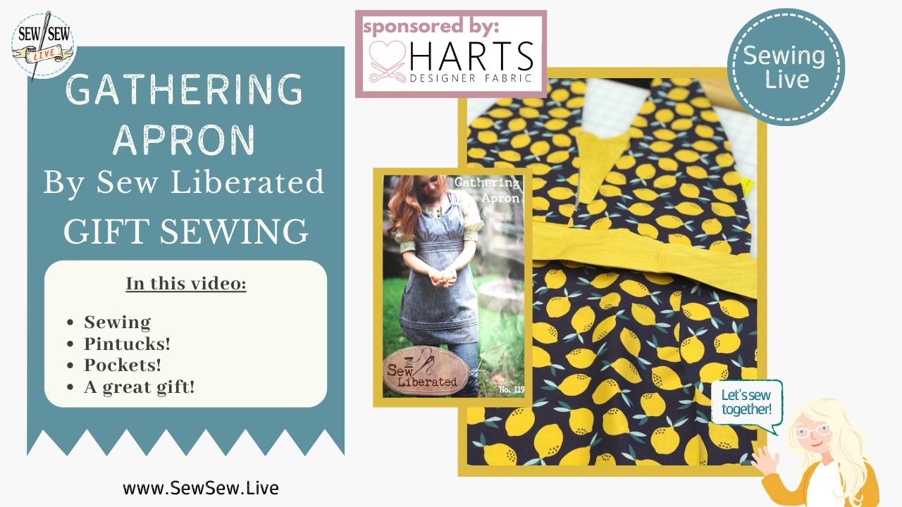 Gathering Apron by Sew Liberated