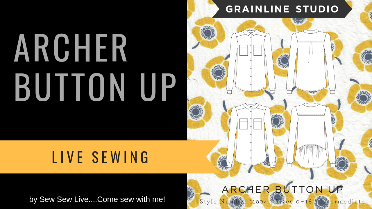 Archer Button-Up by Grainline Studio