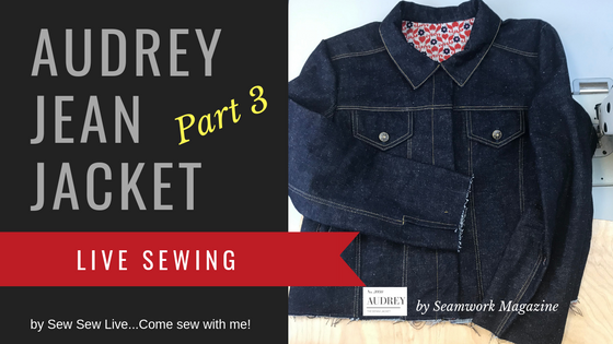 Audrey Jean Jacket by Seamwork Magazine (Colette Patterns)