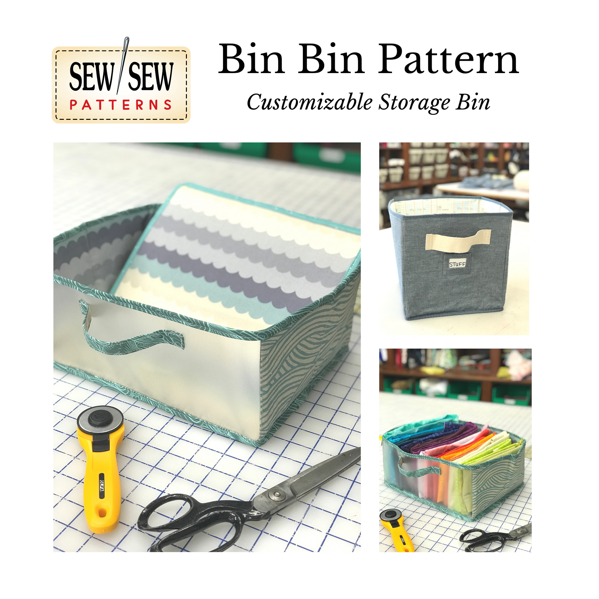 Bin Bin by Sew Sew Patterns