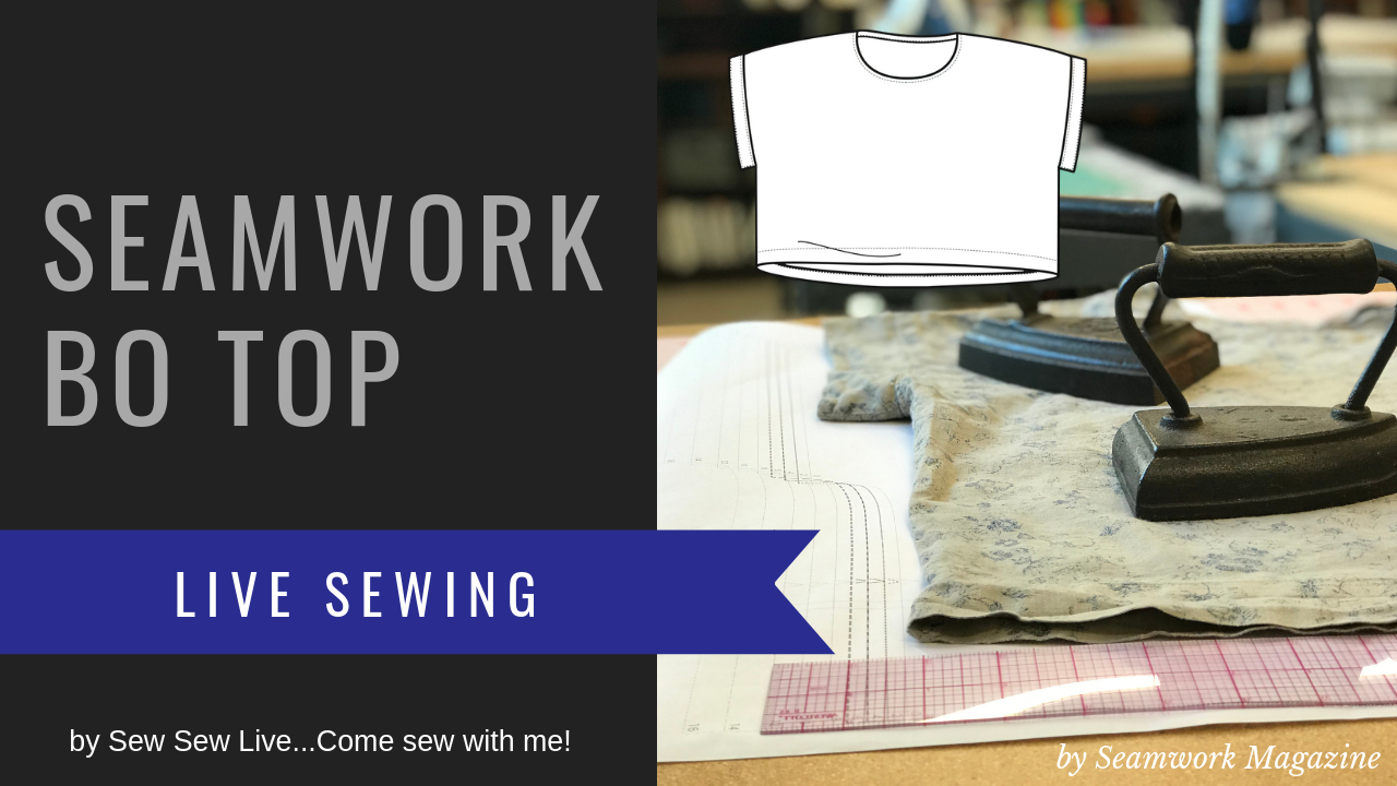 Bo Top by Seamwork (Colette Patterns)