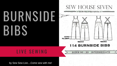 Burnside Bibs by Sew House Seven