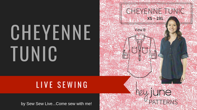 Cheyenne Tunic by Hey June Handmade