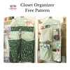 Closet Organizer FREE pattern by Sew Sew Patterns
