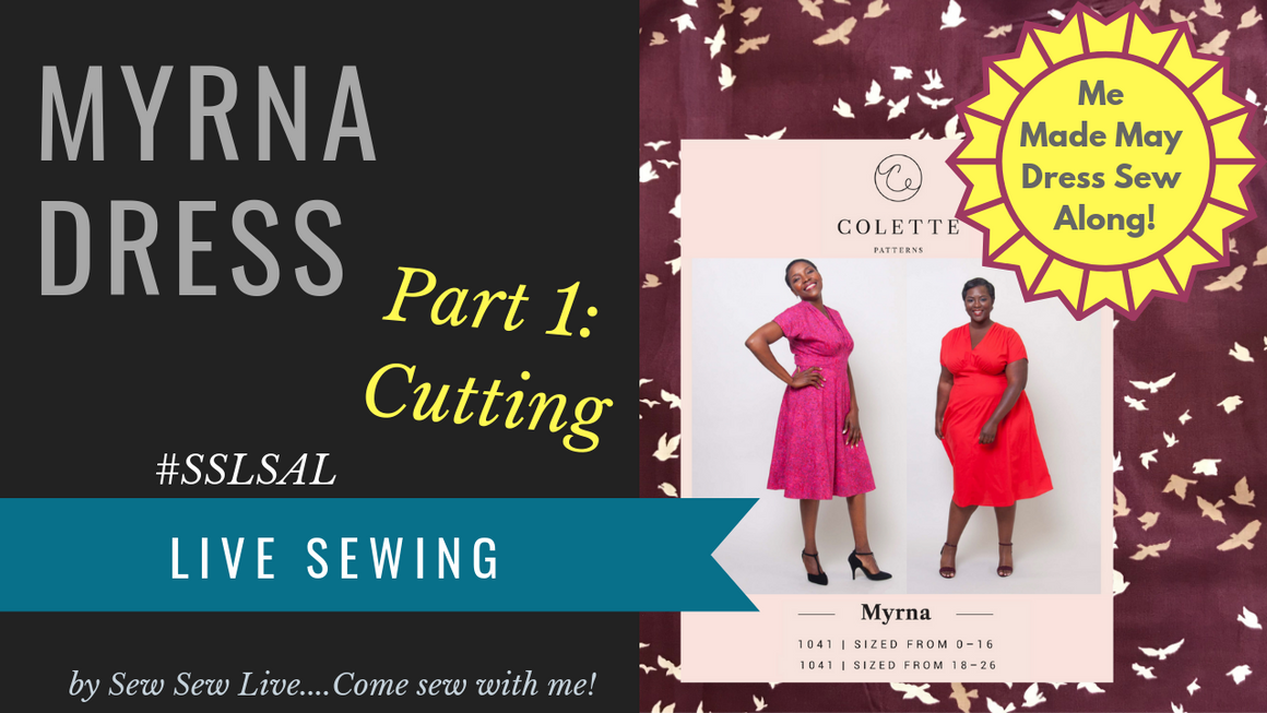 Myrna Dress by Colette Patterns