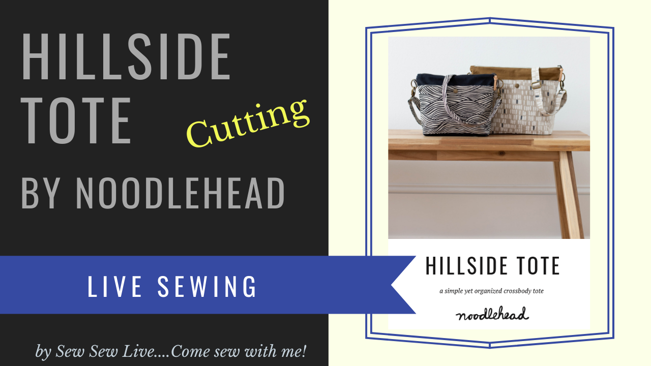 Hillside Tote by Noodlehead
