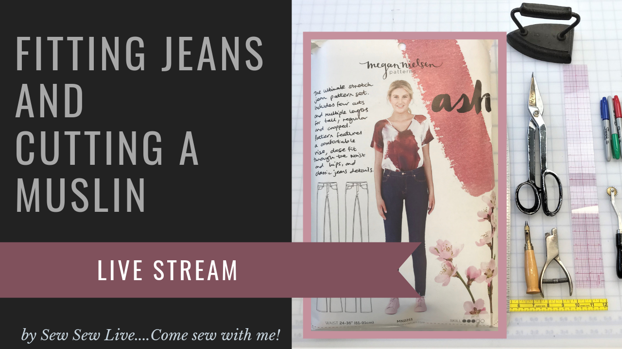Ash Jeans by Meghan Nielsen Patterns