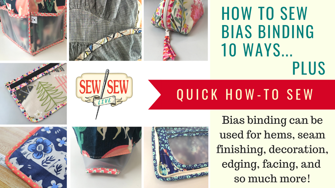 HOW TO Sew Bias Binding