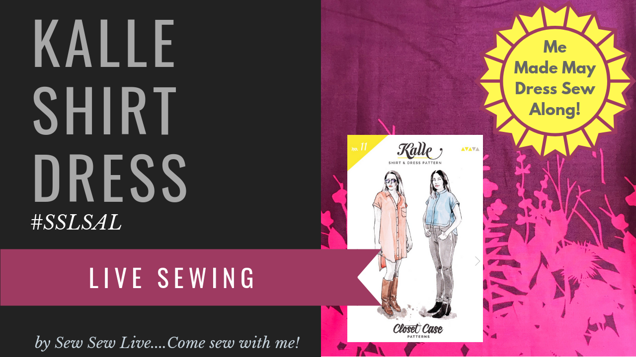 Kalle Shirtdress by Closet Case Patterns