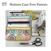 Chicken Boots Notions Case FREE Pattern by Sew Sew Patterns