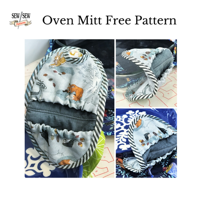 Oven Mitt Free Pattern And Sewing Videos