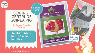 Gertrude Guinea Pig by Funky Friends Factory