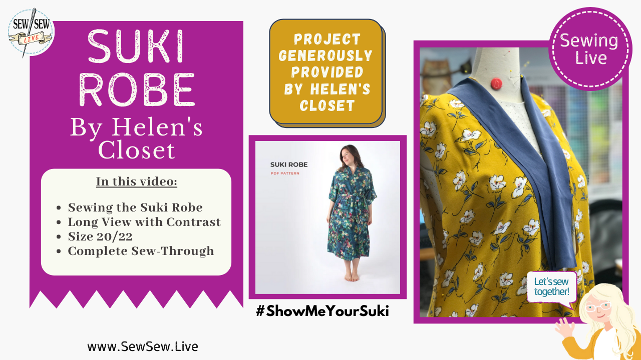 Dressing Robe (formerly known as Suki Robe) by Helen's Closet