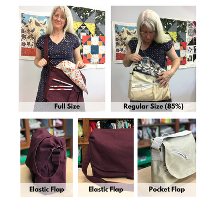 Ideal Bag designed by Viewers and drafted by Sew Sew