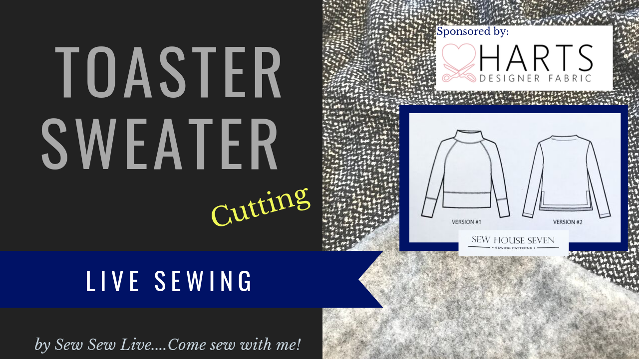 Toaster Sweater by Sew House 7