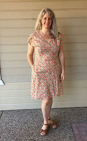 Amelia Dress by Green Bee Patterns
