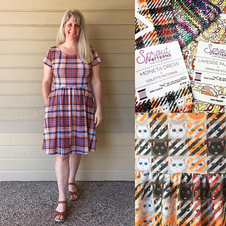 Moneta Dress by Colette Patterns