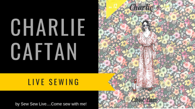 Charlie Caftan by Closet Case Patterns