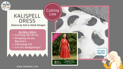 Kalispell Dress by Itch to Stitch Designs