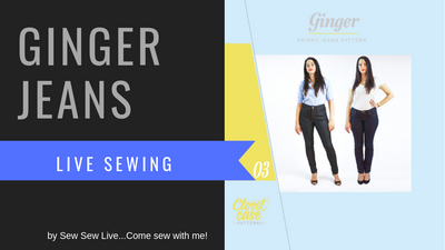 Ginger Jeans by Closet Case Patterns