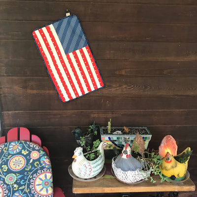 Ornamental Flag Wall Hanging and Free Pattern